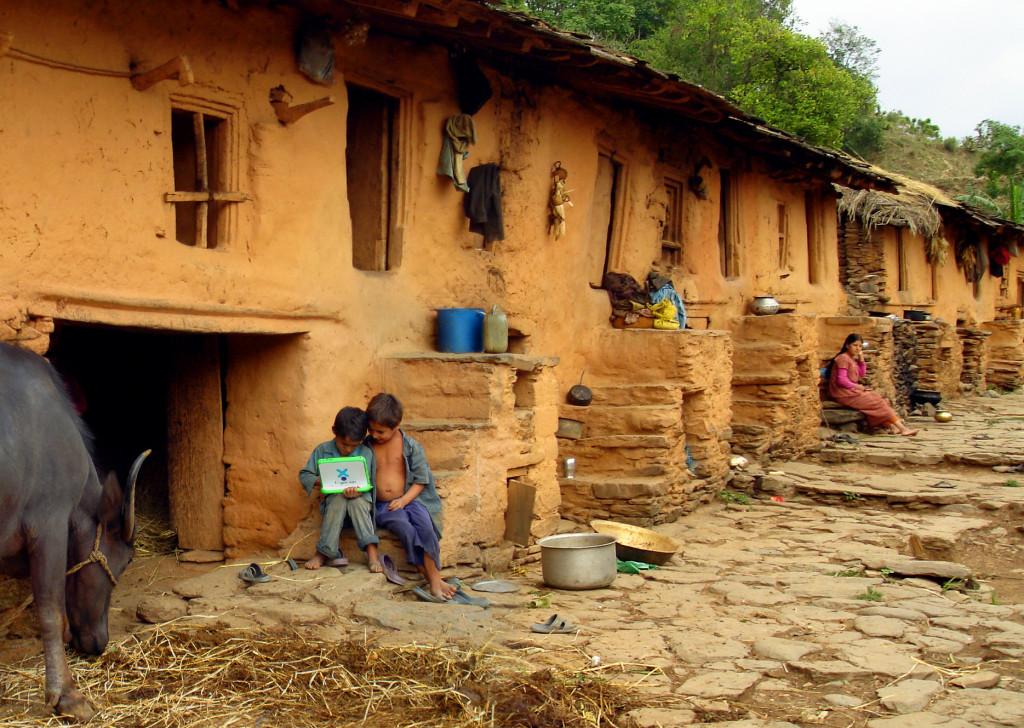One Laptop per Child program in Nepal