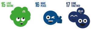SDG Good Life Goals 15-17